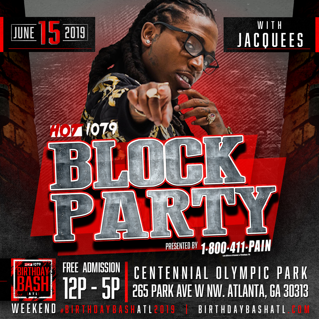 birthday bash block party 2020
