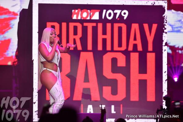 Megan Thee Stallion Birthday Bash ATL 2019