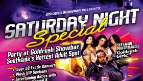 Goldrush Showbar: Saturday Night Special With Special K