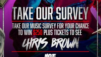 Hot Chris brown music survery