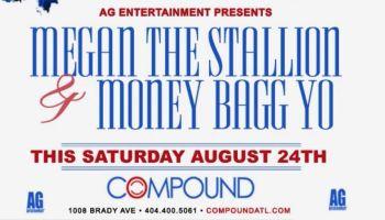 AG Entertainment: Meagan The Stallion & Money Bagg Yo At Compound