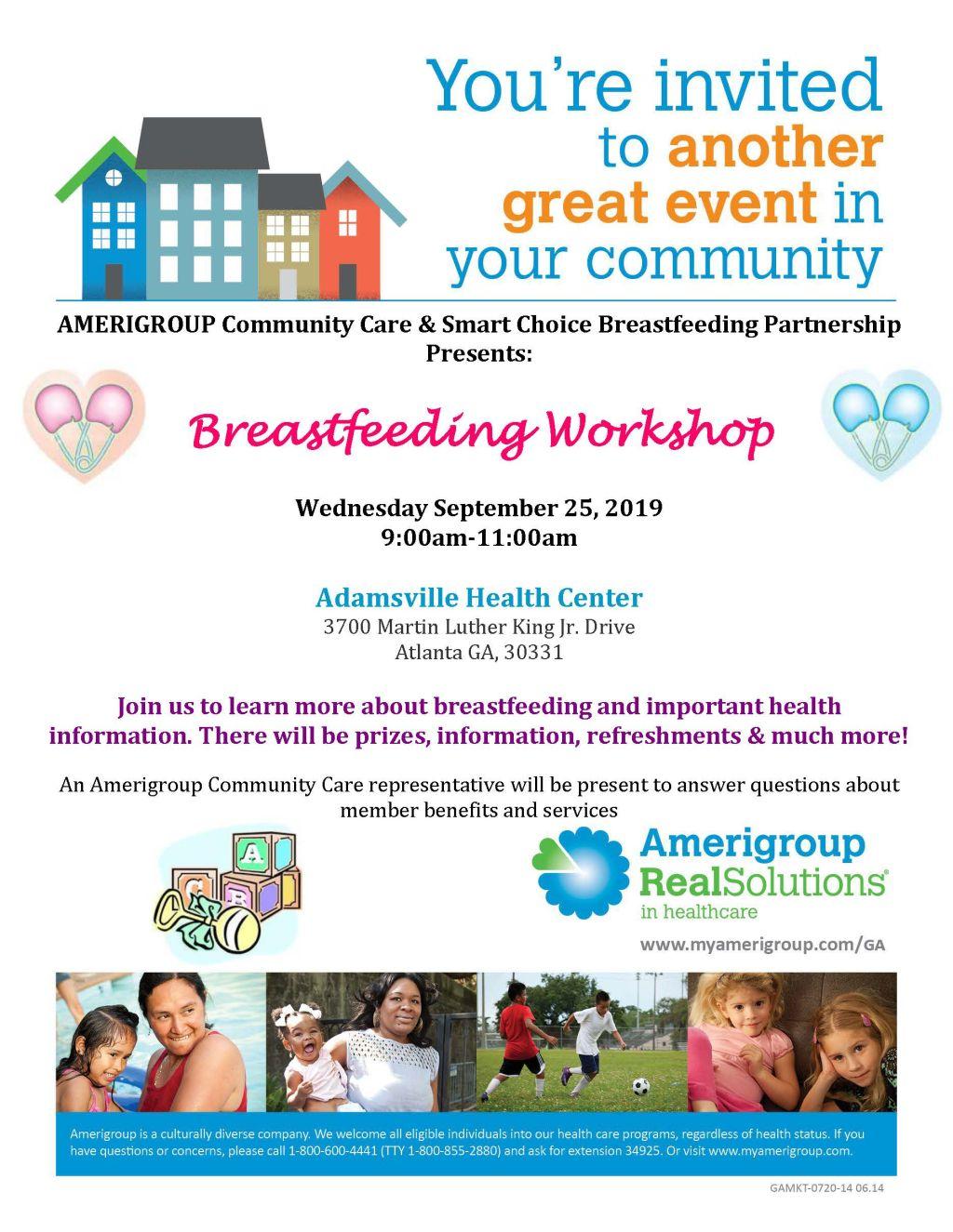Amerigroup Community Care: Breastfeeding Workshop