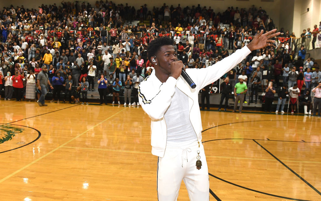 Lil Nas X Surprise Visit To Lithia Springs High School