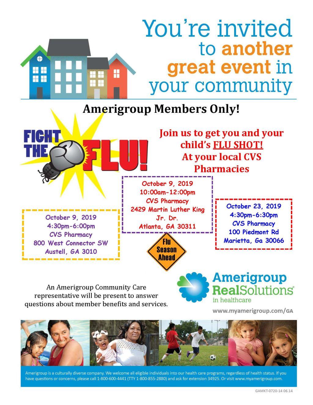 Amerigroup: Fight the Flu