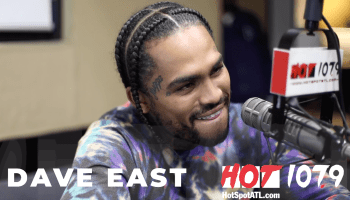 Dave East at Hot 107.9