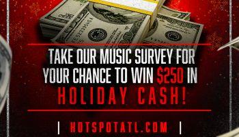 Music Survey Cash Graphic