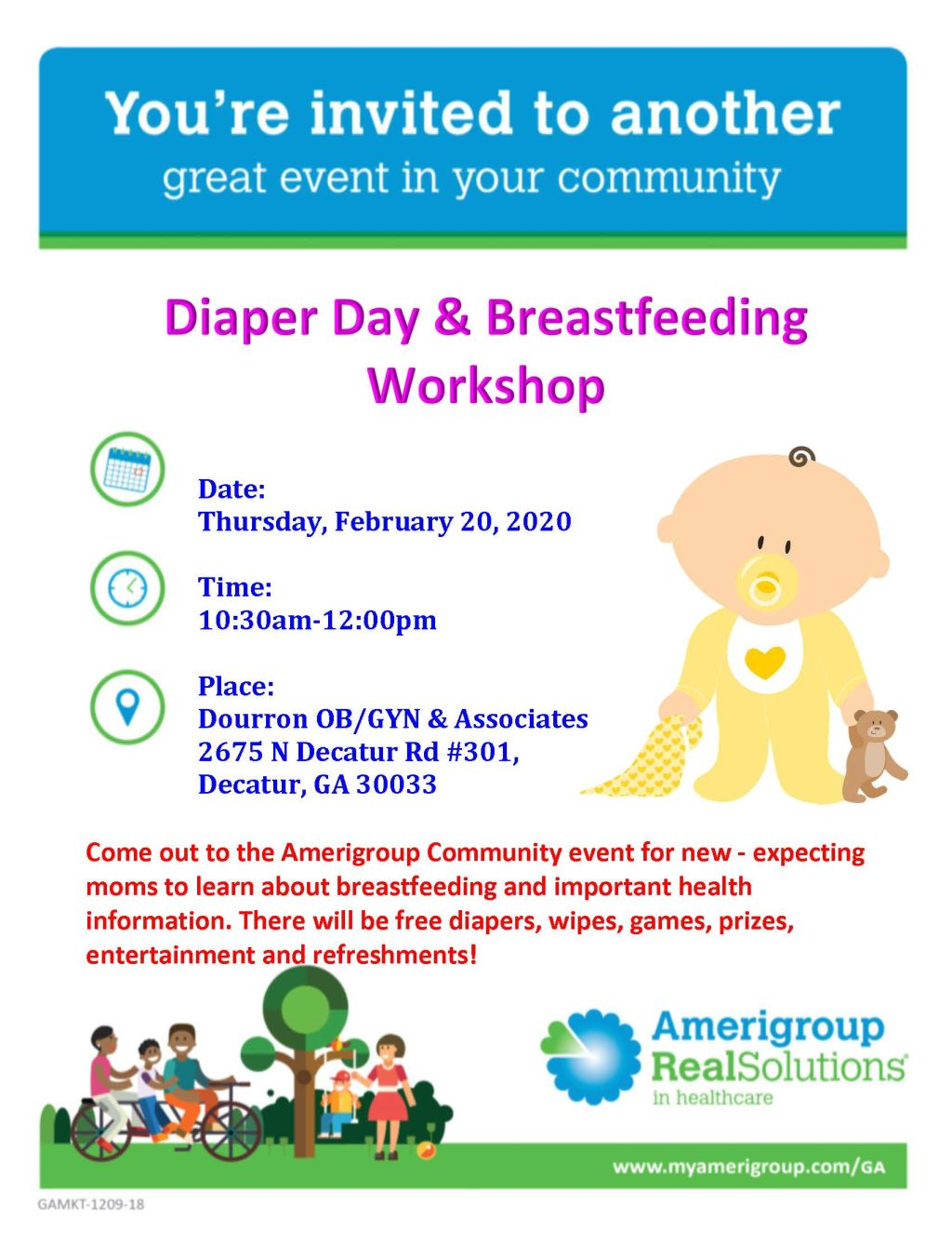 Amerigroup: Diaper Day and Breastfeeding Workshop