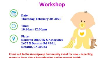 Amerigroup: Diaper Day and Breastfeeding Workshop