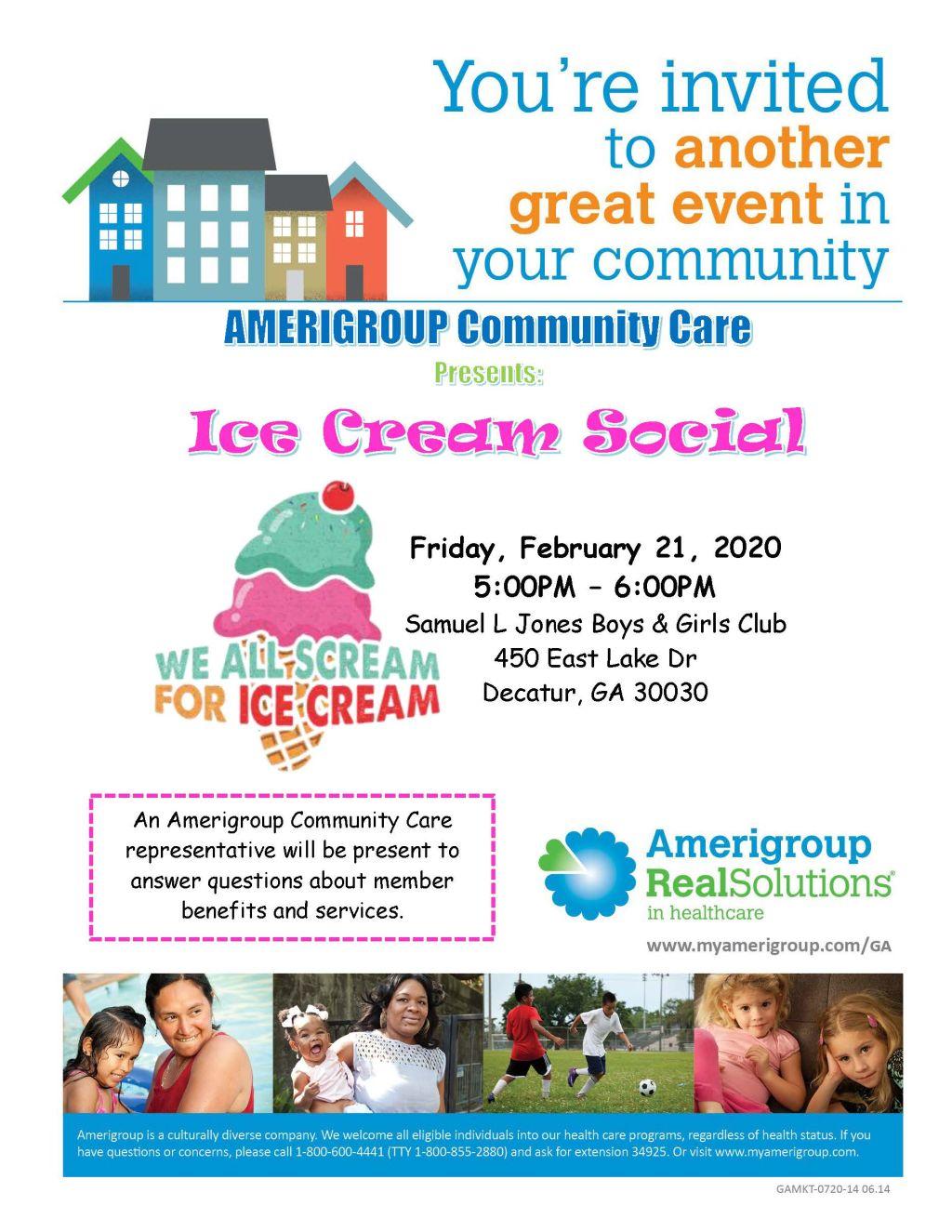 Amerigroup: Ice Cream Social