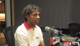Lil Baby at Hot 107.9