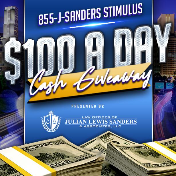 J. Sanders Stimulus Giveaway