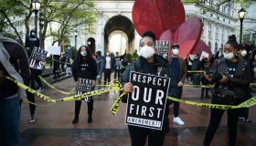 Anti-Police Brutality Protest In New York City