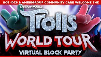 Trolls World Tour Virtual Party
