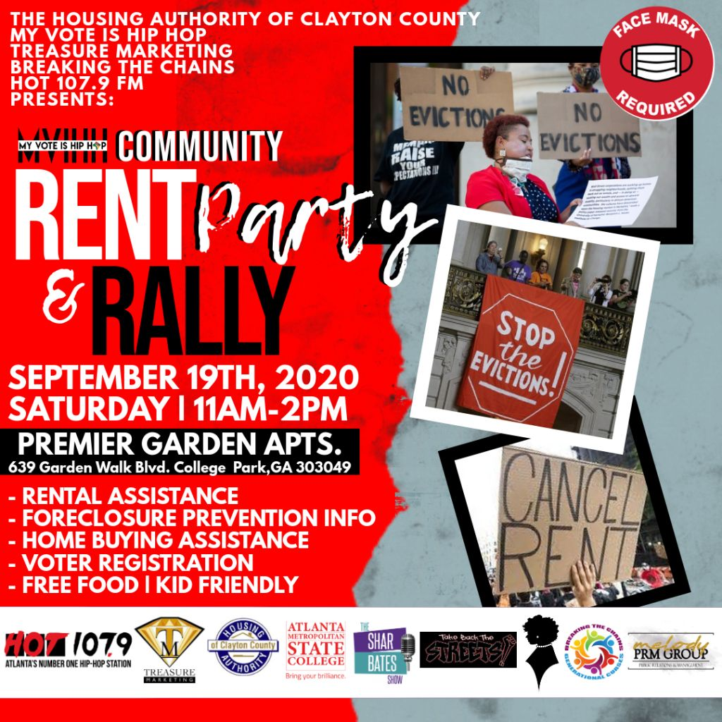 Community Rent Party & Rally