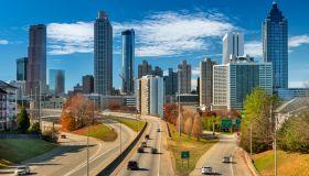 Atlanta Georgia downtown city skyline