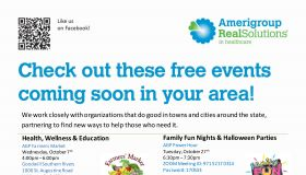 Amerigroup | October Events